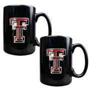 Texas Tech University Red Raiders 2 pc Mug Set
