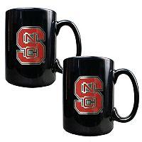 North Carolina State University Wolfpack 2-pc.Mug Set