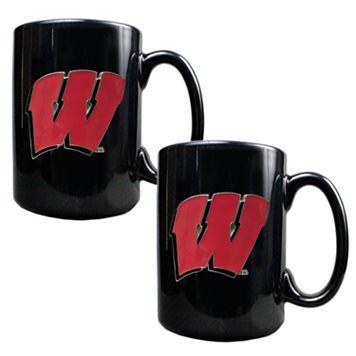 University of Wisconsin Badgers2-pc.Mug Set
