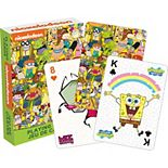 Aquarius Nickelodeon Cast Playing Cards