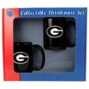 University of Georgia Bulldogs 2 pc Mug Set