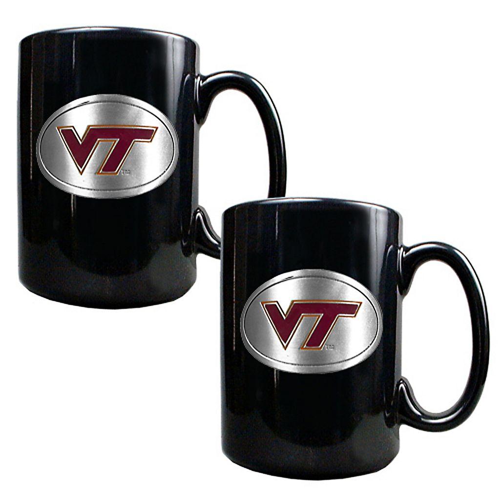 Virginia Tech Hokies 2-pc.Mug Set