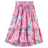 Girls 4-12 OshKosh B'gosh® Print Midi Skirt