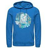 Men's Disney The Little Mermaid Ariel Watercolors Hoodie