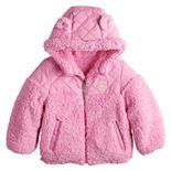 Baby Girl ZeroXposur Reversible Midweight Jacket