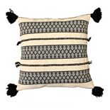 SONOMA Goods for Life® Ultimate Black and Natural Feather-Fill Throw Pillow