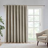SunSmart Arlie Printed Heathe Blackout Patio Curtain