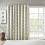 SunSmart Kagen Printed Ikat Blackout Patio Curtain