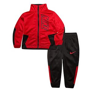 Baby Boy Nike Track Jacket & Pants Set