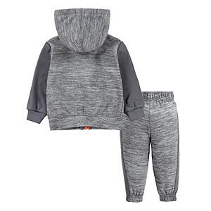 Baby Boy Nike Therma Fleece Zip Hoodie & Pants Set