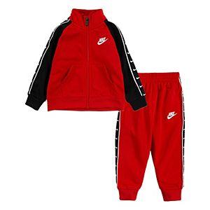 Baby Boy Nike Track Jacket & Pants Set