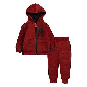 Baby Boy Nike Dri-FIT Therma Fleece Hoodie & Pants Set