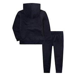 Baby Boy Nike Logo Zip Hoodie & Pants Set