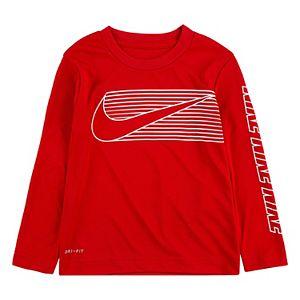 Toddler Boy Nike Dri-FIT Logo Thermal Tee