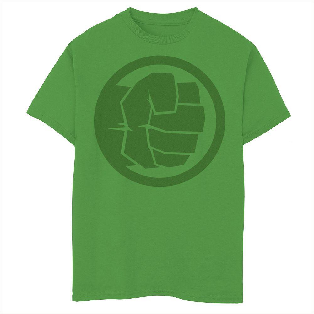 Boys 8-20 Marvel Hulk Fist Tonal Icon Tee