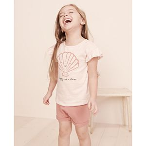 Baby & Toddler Girl Little Co. by Lauren Conrad Organic Ruffle Tee