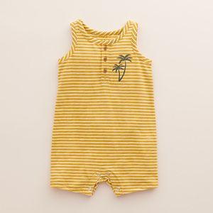 Baby Little Co. by Lauren Conrad Organic Henley Romper