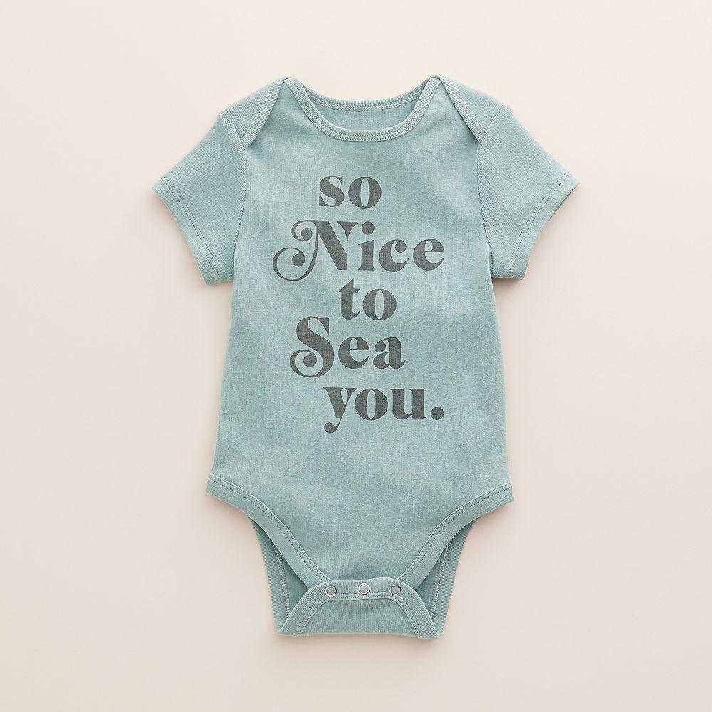 Baby Little Co. by Lauren Conrad Organic Graphic Bodysuit