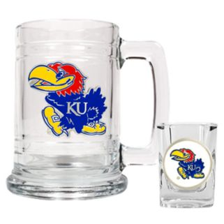 Kansas Jayhawks 2-pc. Mug and Shot Glass Set