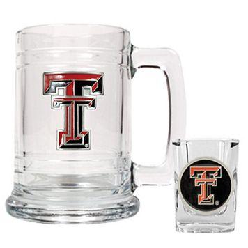 Texas Tech University Red Raiders 2-pc. Mug & Shot Glass Set