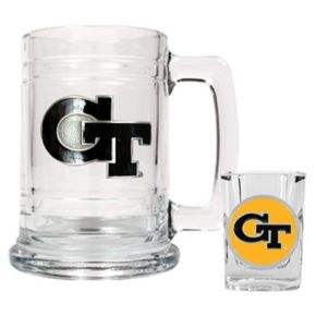 Georgia Tech Yellow Jackets 2-pc. Mug and Shot Glass Set