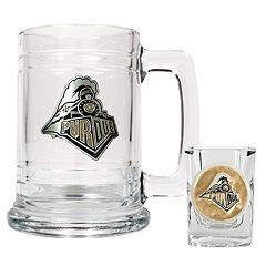 Purdue University Boilermakers 2 pc Mug & Shot Glass Set