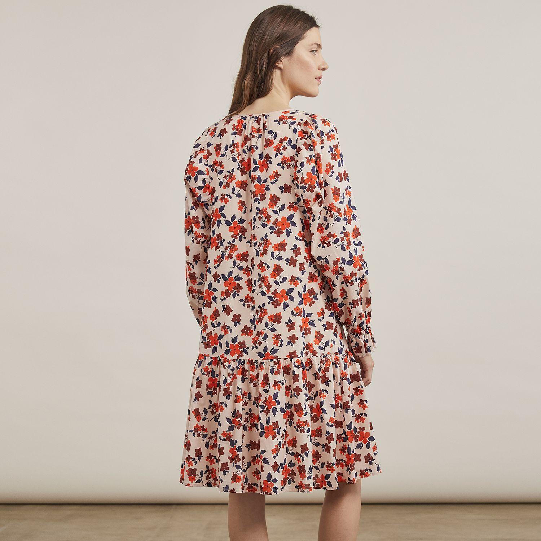 Women's Elizabeth and James Pintuck Bib Dress