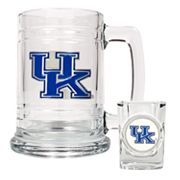 University of Kentucky Wildcats Mug and Shot Glass Set