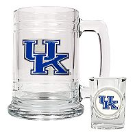 University ofKentucky WildcatsMug & Shot Glass Set