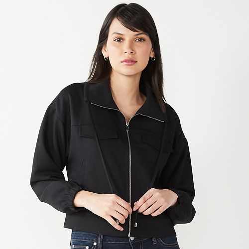 Women's Nine West Soft Utility Jacket