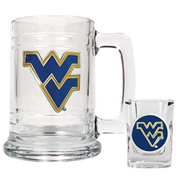 West Virginia University Mountaineers 2-pc. Mug& Shot Glass Set