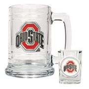 Ohio State University Buckeyes Mug and Shot Glass Set