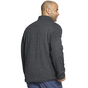 Big & Tall Van Heusen Classic-Fit Sweater Fleece Quarter-Zip Pullover