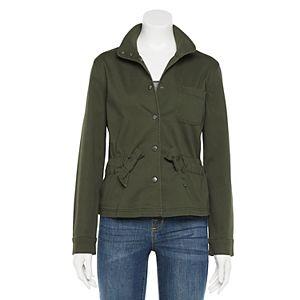 Women's LC Lauren Conrad Knot-Waist Utility Jacket