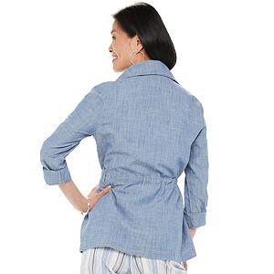 Women's Croft & Barrow® Soft Utility Jacket