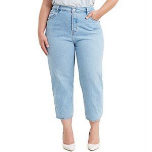 Plus Size Levi's® 501® Original Cropped Jeans