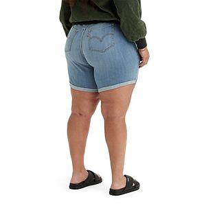 Plus Size Levi's® Cuffed Denim Shorts