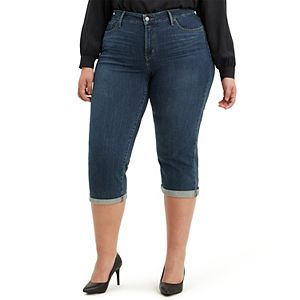 Plus Size Levi's® Shaping Capris