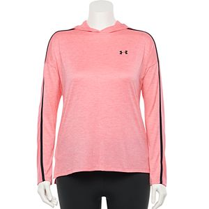 Plus Size Under Armour Tech Twist Graphic Hoodie