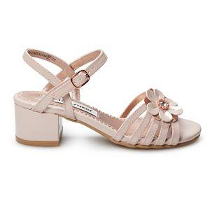 Rachel Shoes Brittany Girls' Dress Heel Sandals