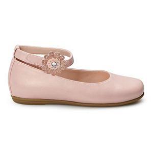 Rachel Shoes Sheryl Girls' Ankle Strap Dress Flats