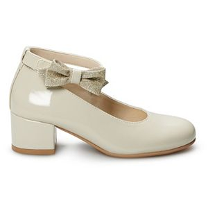 Rachel Shoes Janet Girls' Ankle Strap Dress Heels