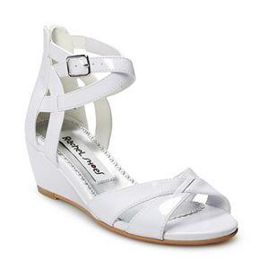 Rachel Shoes Sandra Girls' Wedge Dress Sandals