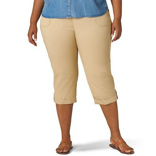 Plus Size Lee® Flex-To-Go Cargo Capri Pants