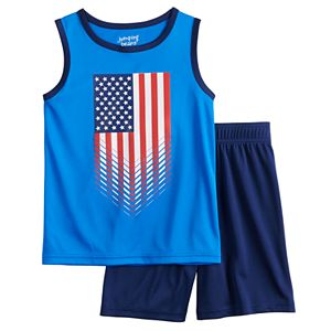 Boys 4-12 Jumping Beans® Active Tank Top & Shorts Set