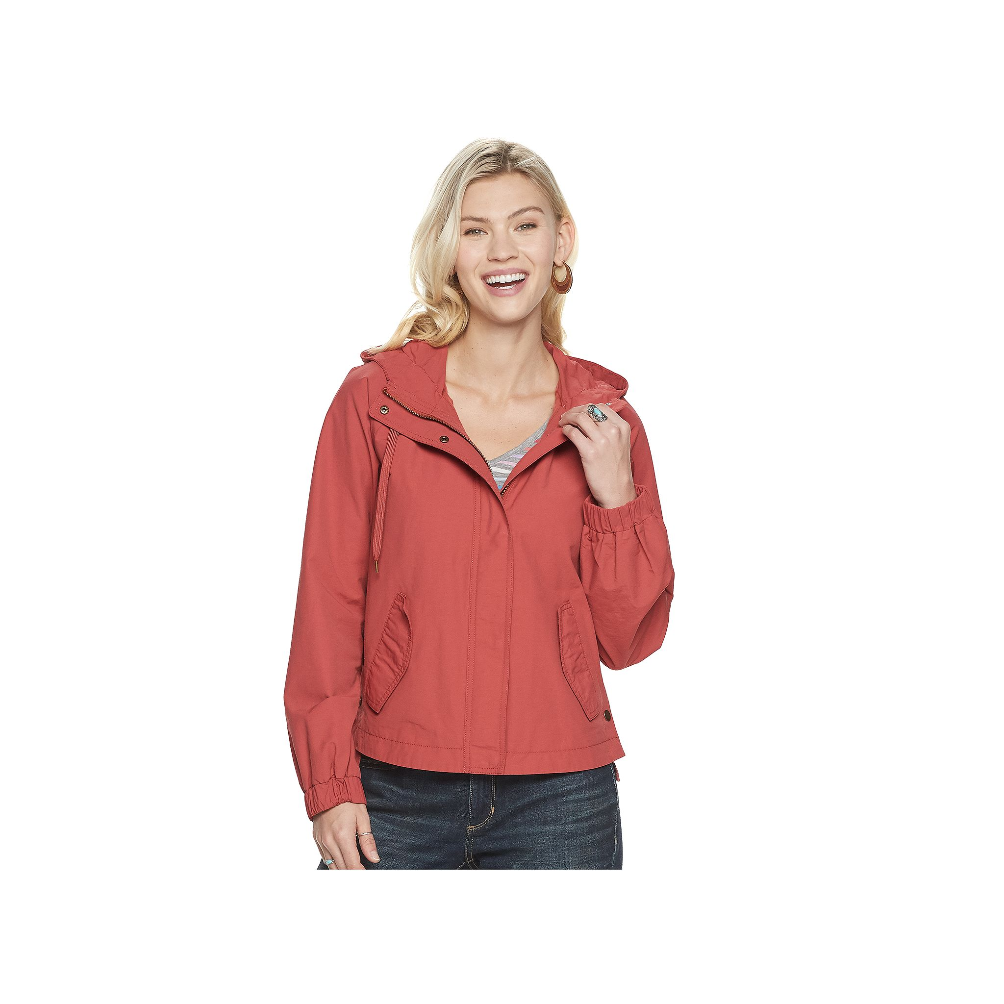 Sonoma Goods For Life Womens Windbreaker (various colors/sizes)