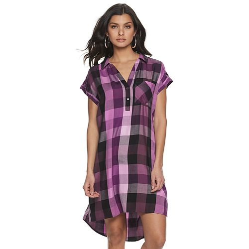 Women's Rock & Republic™ Rolled Sleeve Dress