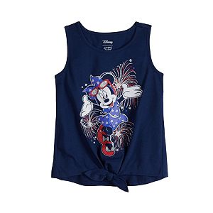 Disney's Minnie Mouse Baby Girl Knot-Front Tank Top by Jumping Beans®