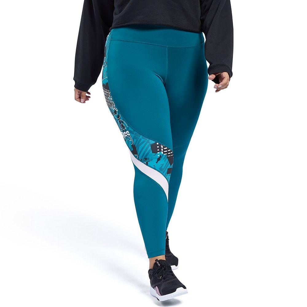 Plus Size Reebok Leggings