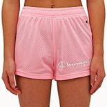Girls' 7-16 Champion® Essential Mesh Shorts